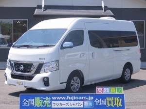 日産 NV350キャラバンバン 新車 FOCS シエスタ FFヒーター 電子レンジ