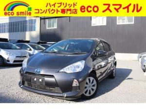 トヨタ アクア G CD キーレス オートAC EVモード 保証付