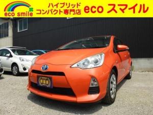 トヨタ アクア G ナビ Bカメラ ワンセグ CD ETC キーレス