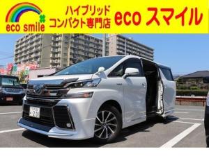 トヨタ ヴェルファイアハイブリッド ZR Gエディション 4WD 純正ナビ/TV/Bカメラ/サンルーフ/ETC車載器
