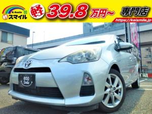 トヨタ アクア S ナビ ワンセグTV スマートキー ETC CDオーディオ