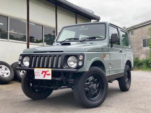 スズキ ジムニー XL 社外バンパー アルバカーキ塗装 4WD オートマ CDオーディオ フォグ
