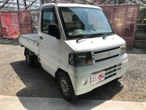 三菱 ミニキャブトラック Vタイプ  4WD  5速マニュアル 三方開
