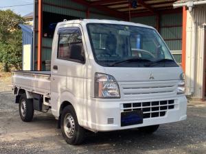 三菱 ミニキャブトラック M 5MT 三方開 エアコン 車検4年12月 修復歴なし スペアタイヤ 新品荷台マット シガーライター