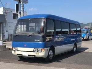 三菱ふそう ローザ  29人乗りバス 自動ドア ディーゼル車 バックカメラ
