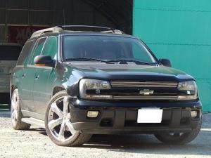 シボレートレイルブレイザー EXT LTZ サンルーフ装着車 4WD 本革電動シート シートヒーター HDDナビ Bカメラ 3列7人乗り