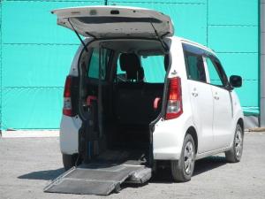 スズキ ワゴンR  福祉車両 スロープ付き キーレス CDオーディオ