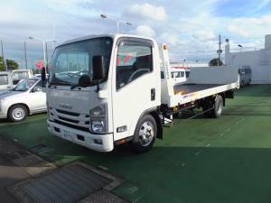いすゞ エルフトラック  一般用キャリアカー インタークーラーターボ150PS 3000cc ディーゼル 6速ミッション 積載車