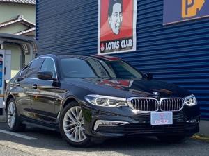 BMW 5シリーズ 530iラグジュアリー ナビ フルセグTV DVD アラウンドビューモニター クルーズコントロール ドライブレコーダー 純正アルミ スマートキー プッシュスタート パワーシート LEDヘッドライト