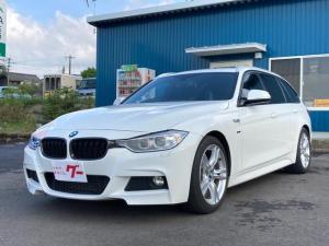 BMW 3シリーズ 320d ツーリングワゴン Mスポーツ 純正18インチアルミホイール/OPブレーキキャリパー&ローター オプションThomannスピーカー 2000ディーゼルターボ HIDヘッドライト 社外カーボングリル ナビ バックカメラ ETC