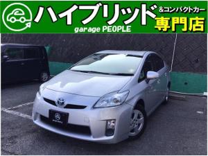 トヨタ プリウス L 純正HDDナビ/フルセグ/Bluetooth/Bカメラ/ETC/保証付き