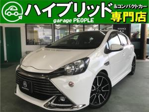 トヨタ アクア G G's 純正ナビ/フルセグ/Bluetooth/バックカメラ/トヨタセーフティセンス/ETC