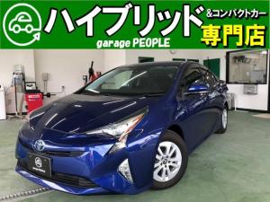 トヨタ プリウス Sセーフティプラス 1.5S セーフティセンス/ワンセグナビ/Bluetooth/Bカメラ/クルコン/保証付き