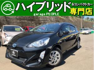 トヨタ アクア Sスタイルブラック 1.5S トヨタセーフティセンス/パナソニックナビ/フルセグ/Bluetooth/Bカメラ/ETC/Pスタート/Sエントリー/保証付き