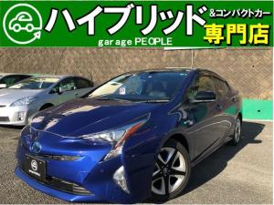 トヨタ プリウス Sセーフティプラス ツートーン 1.8S 純正ワンセグナビ/Bluetooth/Bカメラ/クルコン/17インチAW/保証付き