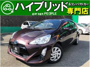 トヨタ アクア S 1.5S 純正オーディオ/Pスタート/Sエントリー/ETC/ワンオーナー/保証付き