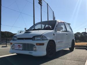三菱 ミニカ ダンガンZZ-4 4WD ターボ HDDナビ 5速MT 純正パーツ有 フォグ 13AW レカロシート