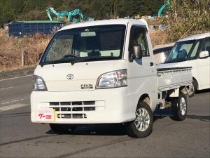 トヨタ ピクシストラック スペシャルエアコン・パワステバージョン CD USB AUX 5速ミッション 4WD AC PS 三方開