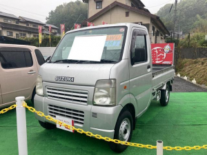スズキ キャリイトラック KCパワステ農繁仕様 4WD AC 5MT 軽トラック