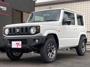 スズキ ジムニー XC ワンオーナー レーダーセーフティー 8インチナビ フルセグTV Bluetooth対応 シートヒーター スマートキー ETC オートマチックハイビーム