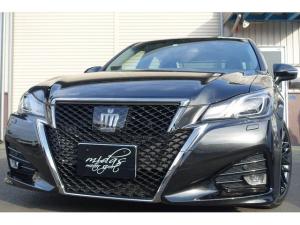 トヨタ クラウン アスリートG-T サンルーフ 黒革 18AW(オプション)