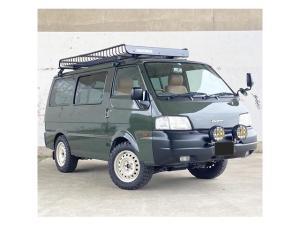 日産 バネットバン DX 4WD 5速マニュアル車 全塗装済 ゴツゴツタイヤ レザー調ブラウンシートカバータイミングベルト一式、ウォーターポンプ交換済み