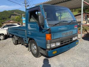 マツダ タイタントラック DX 3000cc ディーゼル 1.5トン 平ボディ 5速 エアコン パワステ パワーウィンドウ 全タイヤ新品