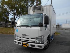 いすゞ エルフトラック 冷蔵冷凍車 -30℃設定 スタンバイ装置 バックモニター