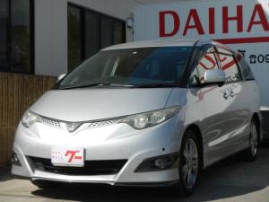トヨタ エスティマ アエラス Sパッケージ タイヤ4本新品 フリップダウンM