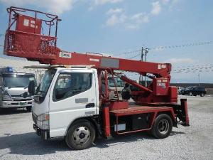 三菱ふそう キャンター 5.2D 高所作業車 エアバッグ 5MT ディーゼル