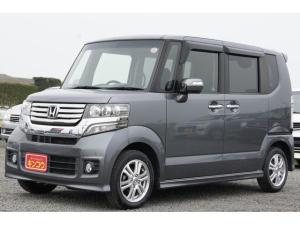 ホンダ N-BOXカスタム G・Lパッケージ 純正アルミ・タイヤ新品・ナビ・テレビ(フルセグ)・Bluetooth・プッシュスタート・両側スライドドア