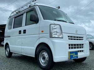 マツダ スクラム PA ハイルーフ 4WD 5速MT ナビ ルーフラック ワンオーナー