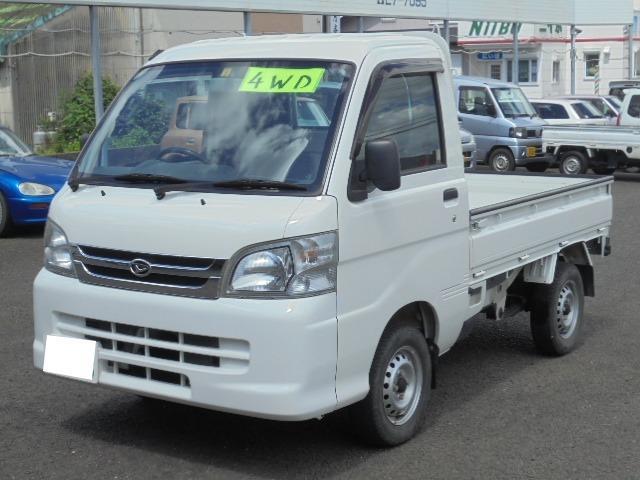 切り替え式4WD・5速マニュアル車・エアコン・パワステ・三方開!