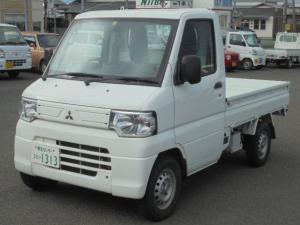 三菱 ミニキャブトラック Vタイプ 2WD オートマ車 エアコン パワステ 三方開 エアーバッグ フロアマット