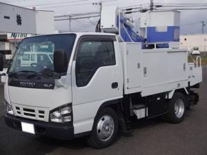 いすゞ エルフトラック 高所作業車 グー鑑定車 5速マニュアル車 バックモニター
