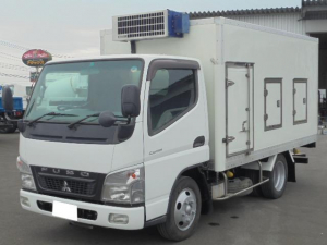 三菱ふそう キャンター 2.0t 低温冷凍車 スタンバイ付き ETC 5速マニュアル