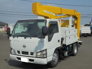 日産 アトラストラック 9.9M高所作業車 5速ミッション ディーゼル ABS