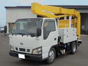 日産 アトラストラック 9.9m高所作業車 ディーゼル 5速ミッション エアコン