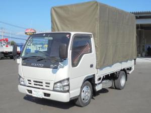 いすゞ エルフトラック 2.0t 幌付き ディーゼル 車検整備付き 5速スムーサー