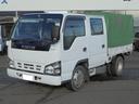 いすゞ/エルフトラック 2.0tディーゼル Wキャブ 6人乗り 幌付き ETC