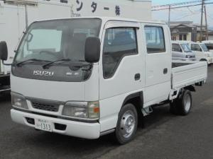 いすゞ エルフトラック 1.25t Wキャブ 5速ミッション ディーゼル車