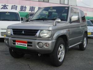 三菱 パジェロミニ X 2WD キーレス アルミ 背面タイヤ