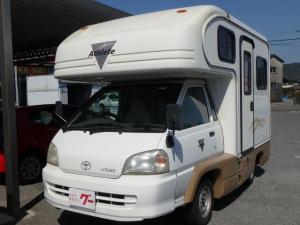 トヨタ ライトエーストラック  キャンピング ETC 4人掛けテーブル ロフト 冷蔵庫 シンク ステップ