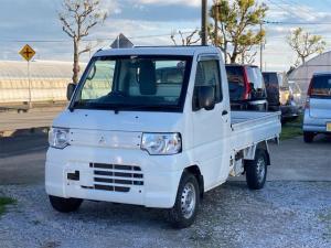 三菱 ミニキャブトラック VX-SE 4WD タイミングベルト交換済 三方開 ETC 5速ミッション エアコン パワステ