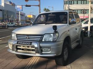 トヨタ ランドクルーザープラド RX サンルーフ ディーゼル ナビ フルセグTV 4WD