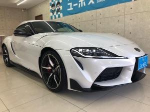 トヨタ スープラ RZ JBL 黒本革シート