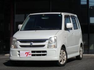 スズキ ワゴンR FX-Sリミテッド 社外CDオーディオ 純正アルミ エアロ ベンチシート