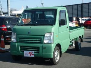 スズキ キャリイトラック KC エアコン パワステ 4WD 5速マニュアル 3方開