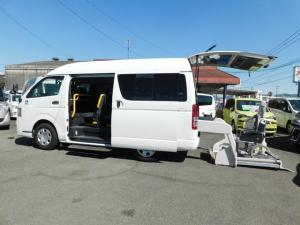 トヨタ レジアスエースバン 車いす仕様車 Bタイプ 車いす2基 ナビTV 福祉車両