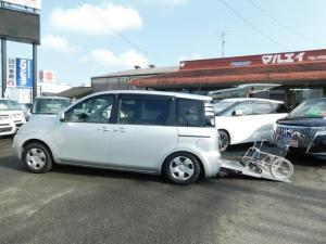 トヨタ シエンタ X 車いす仕様車 タイプII 車いす1基 CD キーレス 3人乗り 福祉車輌